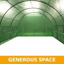 Greenhouse EcoFresh Walk in Greenhouses 4.5m x 3m x 2m spaces