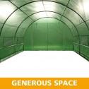Greenhouse EcoFresh Walk in Greenhouses 4.5m x 3m x 2m spaces