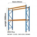 ULTRA Pallet Racking 30 Space Package upright dimension