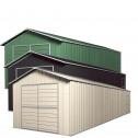 Colour Range - Double Barn Door Garage Shed 3.6m x 9.1m x 3m