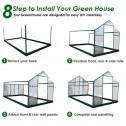 EcoPro Greenhouse installation1