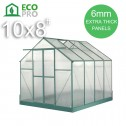 EcoPro Greenhouse 10x8 feet