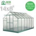 EcoPro Greenhouse 14x8 feet