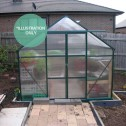 EcoPro Greenhouse 10x8 installed