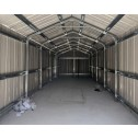 Internal Frames - Garage Workshop Shed 3.6m x 9.12m x 3m Side Double Doors