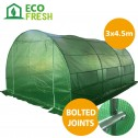 Greenhouse EcoFresh Walk in Greenhouses 4.5m x 3m x 2m