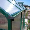 EcoPro Greenhouse 24x8 gutter