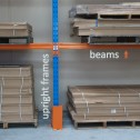 ULTRA Pallet Racking 18 Space Package frame and beams