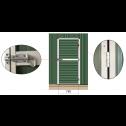 Double Barn Door Garage Shed 3.4m x 6m x 3m door details