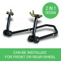 Ultra Tools Motorcycle Motorbike stand - 2in1