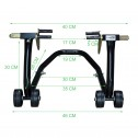 Ultra Tools Motorcycle Motorbike stand - measurement 2