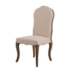 French Provincial Furniture Dining Chair Natural Oak