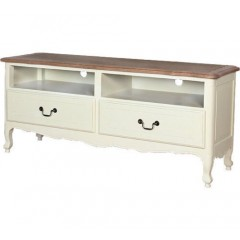 French Provincial Home Furniture TV Unit Entertainment Stand