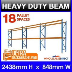 ULTRA Pallet Racking 18 Space Package - Dexion Compatible