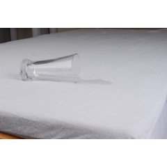 Queen Mattress Protector - Waterproof Terry W Skirt