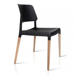 Set Of 4 Belloch Replica Dining Chair - Black