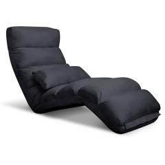 Lounge Sofa Chair - 75 Adjustable Angles - Charcoal