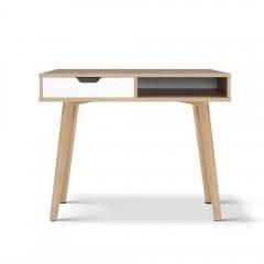 2 Drawer Wood Computer Desk