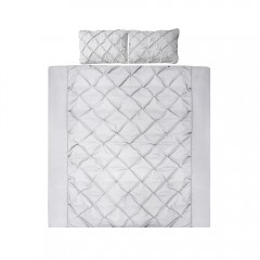 Queen 3-piece Quilt Set Grey