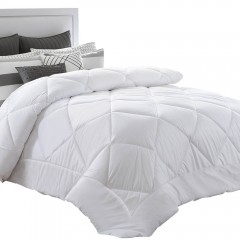 King Size 400gsm Microfibre Quilt Cover