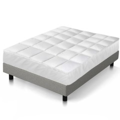Goose Down & Feather Mattress Topper - Queen