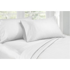 Queen Size 1000tc Cotton Rich Sheet Set (white Color)