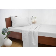 Queen Size 1500tc Cotton Rich Sheet Set (white Color)