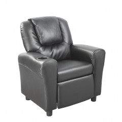 Leather Kids Recliner
