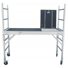 Professional Aluminium Safety Scaffold With Hatch