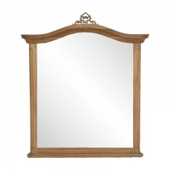 French Provincial Vintage Wood frame Mirror