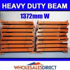 1372mm 2850kg Pallet Racking Beam Dexion Compatible
