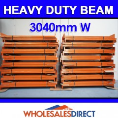 Pallet Racking Beam 3048 x 120mm 2300kg Heavy Duty