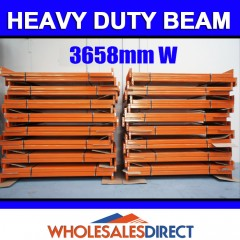 Pallet Racking Dexion Compatible Heavy Duty Beam 3658mm