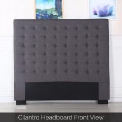 Cilantro Double Charcoal Headboard