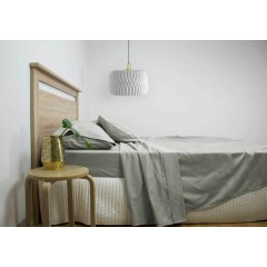 King Size 2500tc Cotton Rich Sheet Set (grey Color)