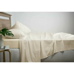 Queen Size 2500tc Cotton Rich Sheet Set (linen Color)