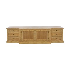 French Provincial Hamptons Large TV Entertainment Unit /Stand with Drawers