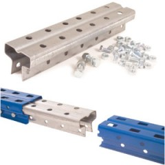 Frame Extention/Splice Kit Pallet Racking