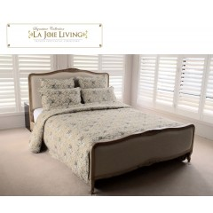 French Furniture Provincial Bed Frame in Natural Oak King Size