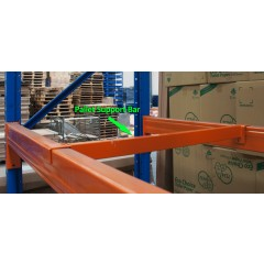 Pallet Racking Pallet Support Bar