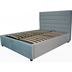 Heather Queen GAS LIFT Bed Frame with Storage