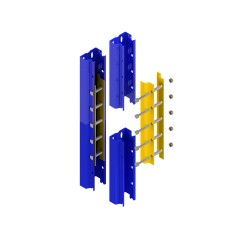 Frame Extention/Splice Kit Pallet Racking