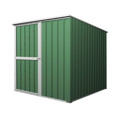 Garden Shed 1.76m x 1.76m x 1.9m Rivergum Green CLEARANCE