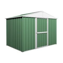 Garden Shed 2.63m x 1.74m x 2.1m Rivergum Green CLEARANCE