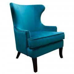 Lexter Upholstered Wingback Sofa Lounge Armchair
