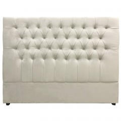 Georgia King Headboard Upholstered Button Tufted Chesterfield Bed Headboard