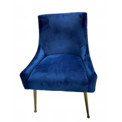 Ellie Set of 2 Velvet Upholstered Dining Chair