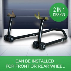 Ultra Tools Motorbike Stand 2in1 Front or Rear