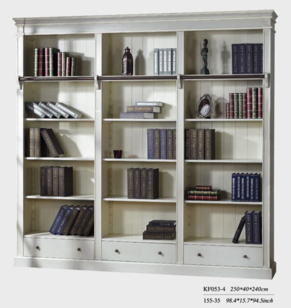 Книжный шкаф с лестницей от philippe delaunay - provance pd..