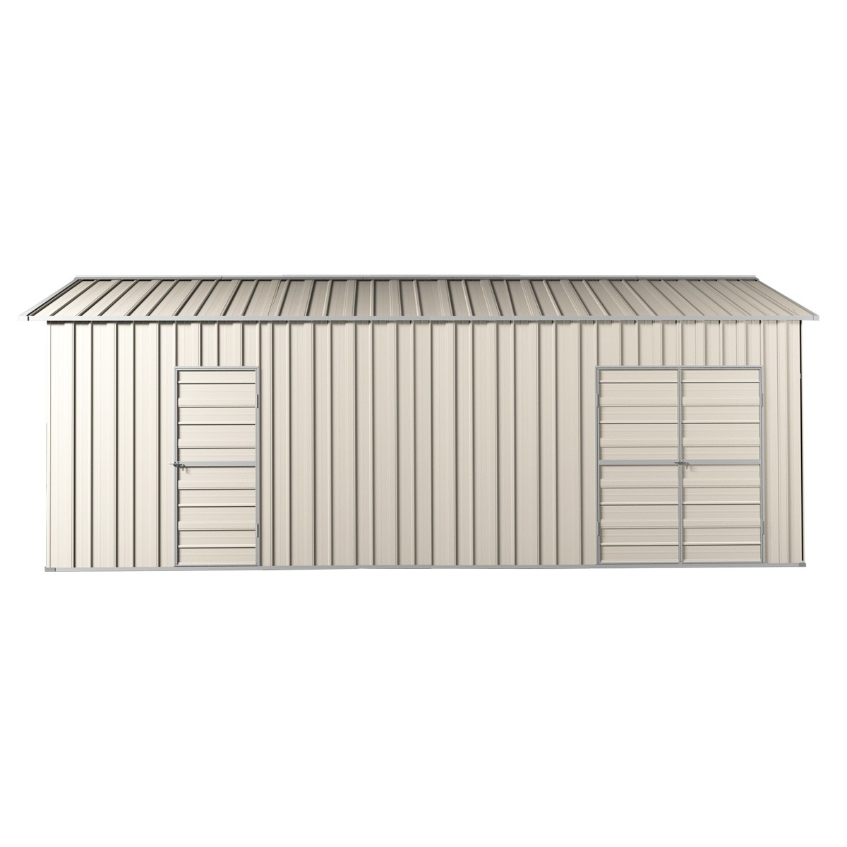 Double Garage Design In Sidcup: Garage Workshop Shed 3.6m X 7.6m X 3m Side Double Doors